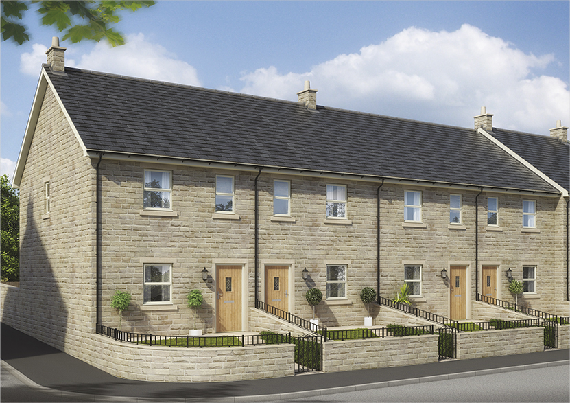 Shepley Gardens, Glossop - Sales Office & Show Home now open